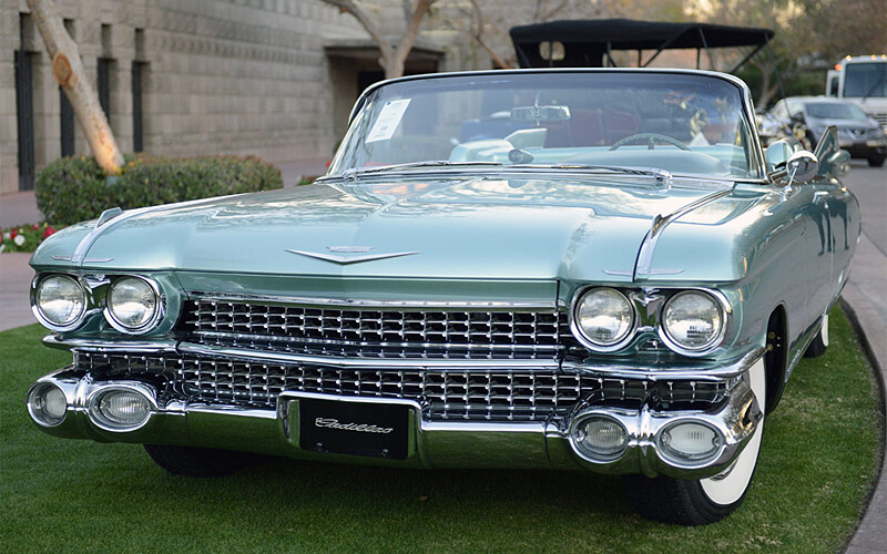The rarest of all - the 1959 Cadillac Eldorado Biarritz Convertible