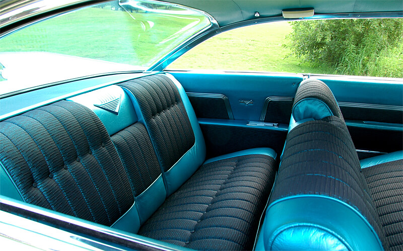 The 1959 Cadillac could comfortably seat six