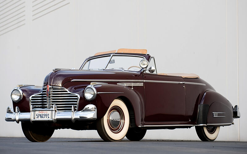 The 1940-41 Buick Super featured an all new