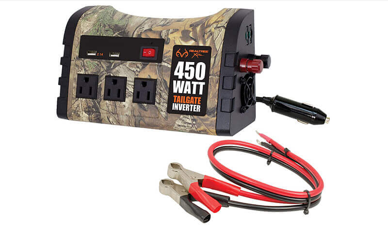 Custom Accessories Realtree 450W Tailgate Inverter
