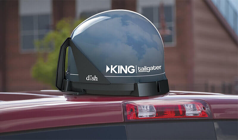 KING Multiple TV Viewing Tailgater Kit